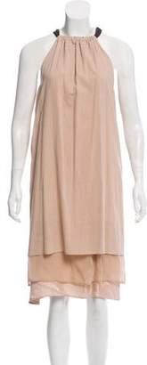 Brunello Cucinelli Layered Midi Dress