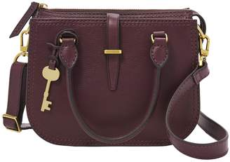 Fossil Mini Ryder Leather Satchel