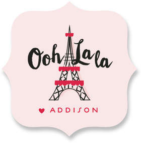 Eiffel So Happy Custom Stickers