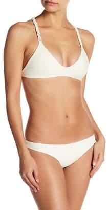 Mikoh Floripa Macrame Racerback Bikini Top