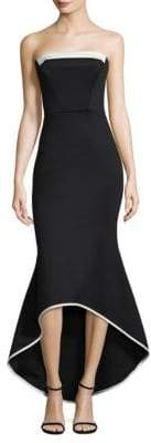 Black Halo Dylan Colorblock Gown