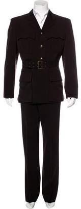 Jean Paul Gaultier Military Wool-Blend Suit