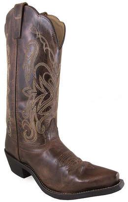 SMOKY MOUNTAIN Smoky Mountain Women's Madison 12 Distress Leather Cowboy Boot