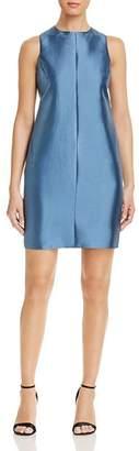 Giorgio Armani Pleated-Back Mini Dress