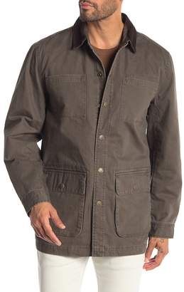 Weatherproof Corduroy Collar Barn Jacket