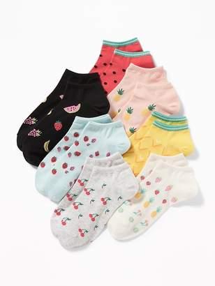 Old Navy 7-Pack Printed Ankle Socks for Women