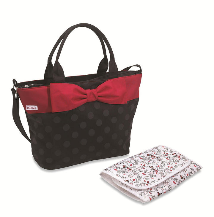 Summer Infant Minnie Mouse Bow Tie Tote Diaper Bag