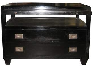 Noir Furniture Sliding Tray Side Table