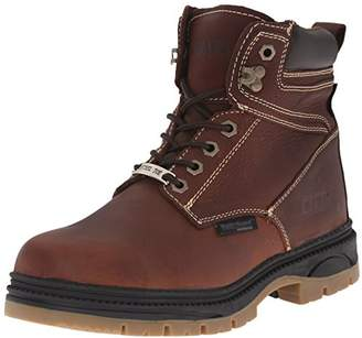 AdTec Men's 6 Inch Waterproof Steel Toe-M Work Boot