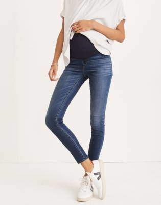 Madewell Maternity Over-the-Belly Skinny Jeans in Danny Wash: Tencel Edition
