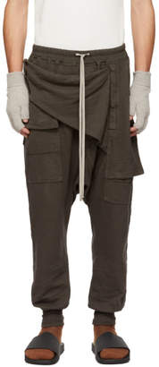 Rick Owens Grey Prisoner Memphis Lounge Pants