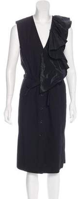 Tome Sleeveless Belted Dress