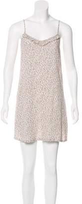Current/Elliott Floral Print Slip Dress
