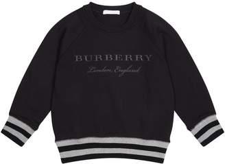 Burberry Striped Hem Sweater