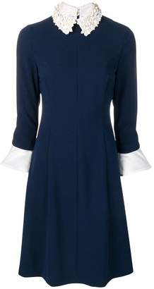 Steffen Schraut embellished collar dress