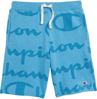 Champion Giant Script Sweat Shorts