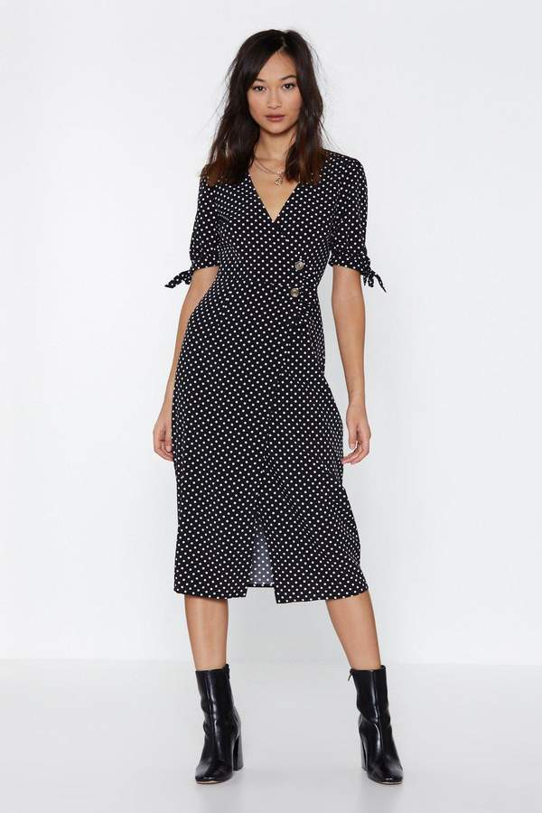 On the Spot Polka Dot Dress
