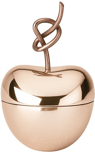 Ghidini 1961 - Knotted Cherry Trinket Box - Rose Gold - Small