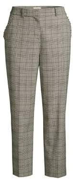 Kate Spade Out West Mod Plaid Pants