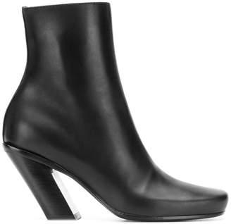 Ann Demeulemeester block heel ankle boots