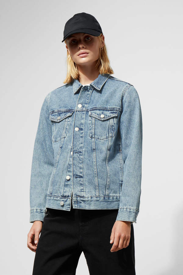 Single WD Blue Denim Jacket - Blue