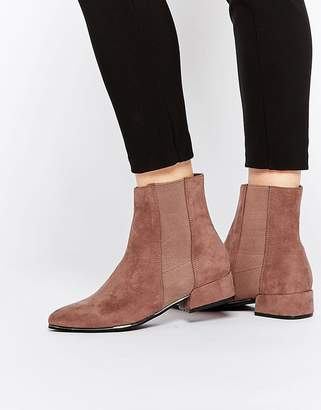 Asos Angles Chelsea Ankle Boots