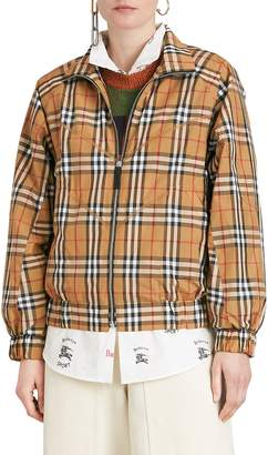 Burberry Corfe Check Print Jacket