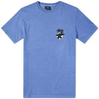 Stussy Surfman Dot Pigment Dyed Tee