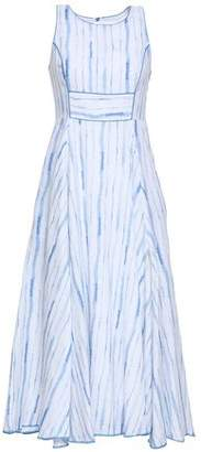 Gül Hürgel Striped Linen Midi Dress