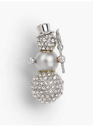 Talbots Holiday Brooch Collection - Snowman