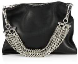 Alexander Wang Genesis Leather Chain-Handle Bag
