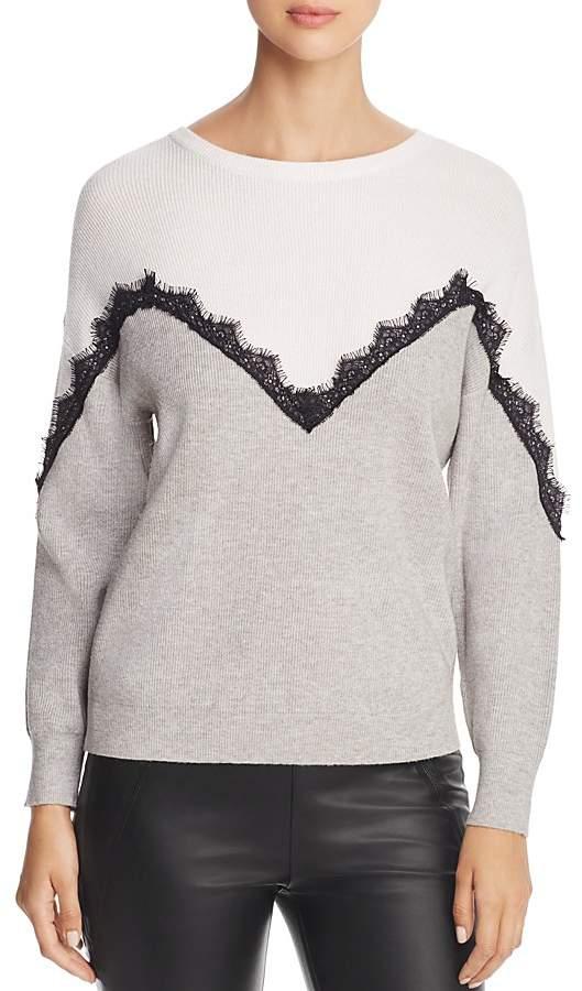 Vero Moda Smilla Ribbed Color Block Sweater