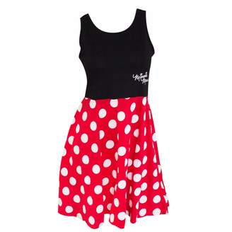 Disney Adult Junior Minnie Mouse Polka Dot Cosplay Dress