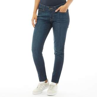 Levi's Womens 711 Skinny Jeans Land And Sea