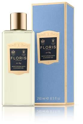 Floris London No.89 Moisturizing Bath and Shower Gel, 250 Gram