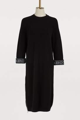Kenzo Cotton and wool dress