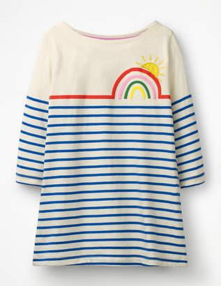Boden Stripy Applique Tunic