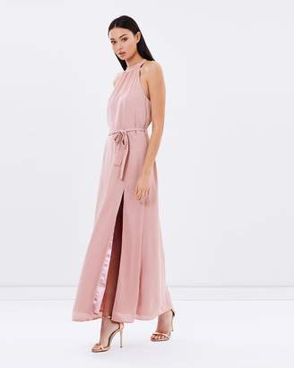 Isla Blush Maxi Dress