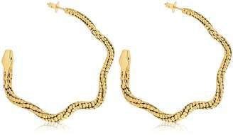 Tao Creoles Serpent Earrings