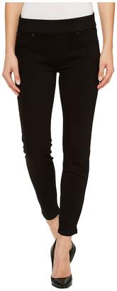 Liverpool Sienna Pull-On Ankle The Perfect Black Denim in Black Rinse Women's Jeans