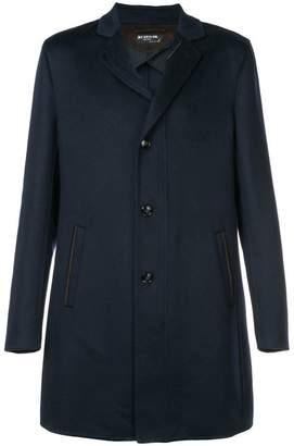 Kiton double pocket single-breasted coat