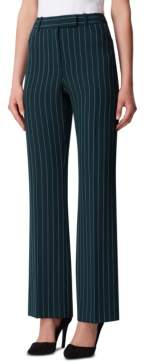 Tahari ASL Pinstriped Trouser Pants