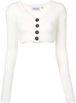 Opening Ceremony cropped rib cardigan