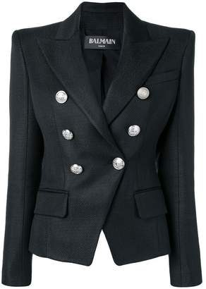 Balmain pointed shoulders blazer