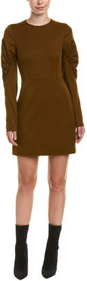 Tibi Florence Silk-Lined Mini Dress
