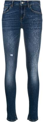 Liu Jo studded skinny jeans