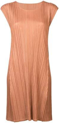 Pleats Please Issey Miyake Mellow pleated dress