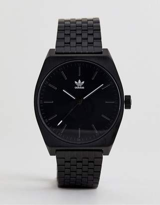 adidas Z02 Process Bracelet Watch In Black