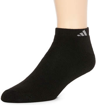 adidas Men's 6-pk. Athletic Cushioned Low-Cut Socks - Extended Sizes