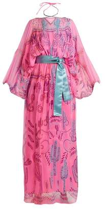 Zandra Rhodes - Archive Ii The 1976 Cactus Gown - Womens - Pink Multi
